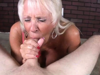 Mature Milf Loves His Big Load In Her Mouth
