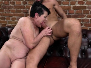 Busty Granny Dolly Bee Fucked Hard