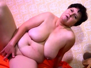 OmaHotel Mature with granny masturbates compilation