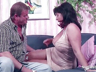 German Mom and Dad in Porn Casting for less Money