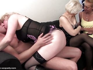 Mature mom and grannies fucked by young boy toy