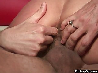 Big titted milf Persia Monir gets facial and creampie