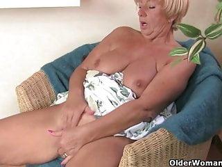 Voluptuous granny Samantha collection