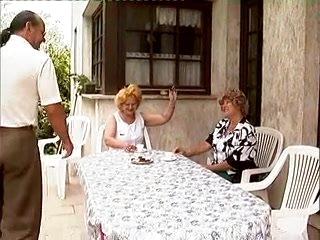Excited German grannies getting dicked inexperienced