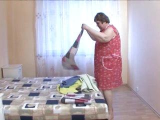 Bbw granny maid love huge cock