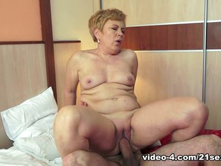 Crazy pornstar Horny Granny in Fabulous Grannies, Big Ass adult clip