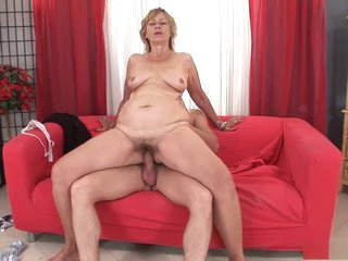 Incredible pornstar in hottest hairy, mature sex movie