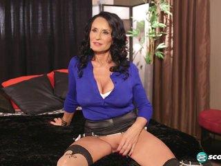 Rita talks about getting DP'd - 60PlusMilfs