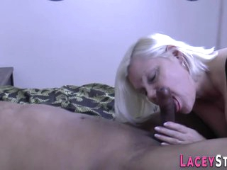 Big ass british grandmother sucks bbc