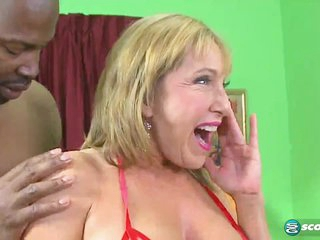 Double Chocolate-Stuffed Milf - 60PlusMilfs
