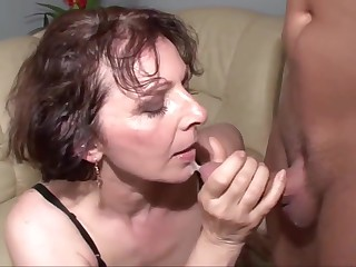 Mother Fucking Facials 17 Grannies
