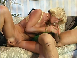Granny and MILF orgy - DBM Video