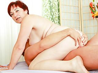 Zuzana A & Steve Q in I Wanna Cum Inside Your Grandma #07 Video