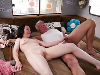 German Granny Pussy Camper - MagmaFilm
