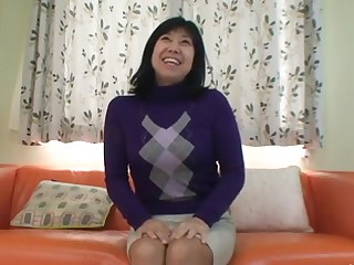 56yr old Taeko Matsukawa Drilled Creampied (Uncensored)