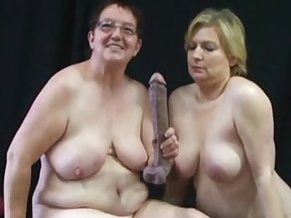 Another couple of big lesbian grannies 2