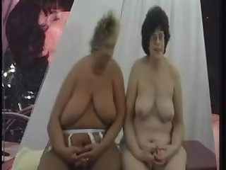 Kinky fat grannies boned in all holes