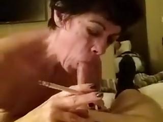 Smoking Blowjob Southern Grandmother Artist #1