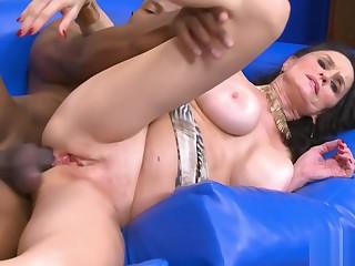 Slutty Rita Daniels Black Anal