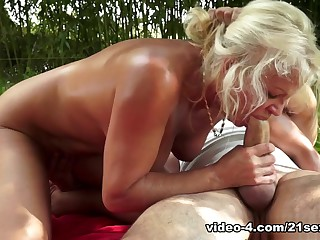 Fabulous pornstar in Incredible Outdoor, Facial xxx movie