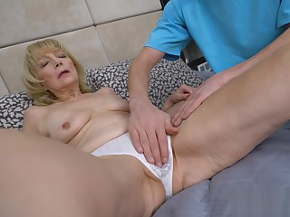 70 Year Old Granny Suzana Sucks And Fucks A Youthful Cock