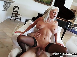 Amazing pornstar in Incredible Big Tits, Stockings xxx scene