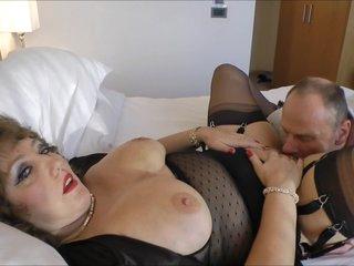 Dirty grandma seducing the maintenance guy