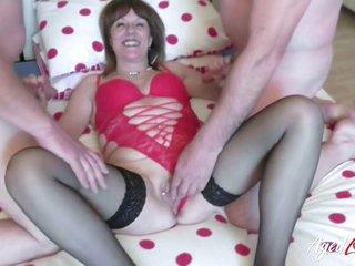 British Wife And Three Cocks Groupsex