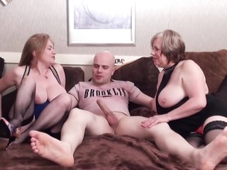 Horny Old Sluts Group Sex Party