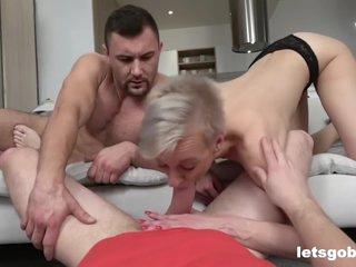 Voyeur Joins The Granny Fucking Extravaganza